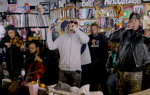 Wu Tang Tiny Desk